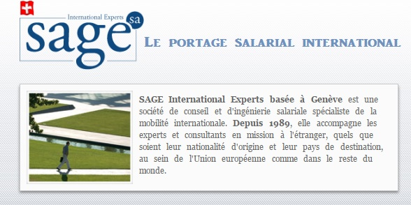 portage salarial international