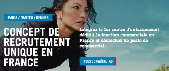 recrutement commercial