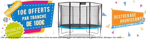 ressort de trampoline