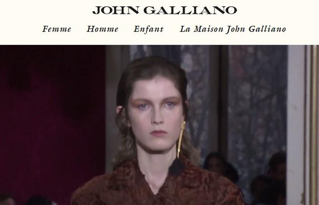 accessoire john galliano